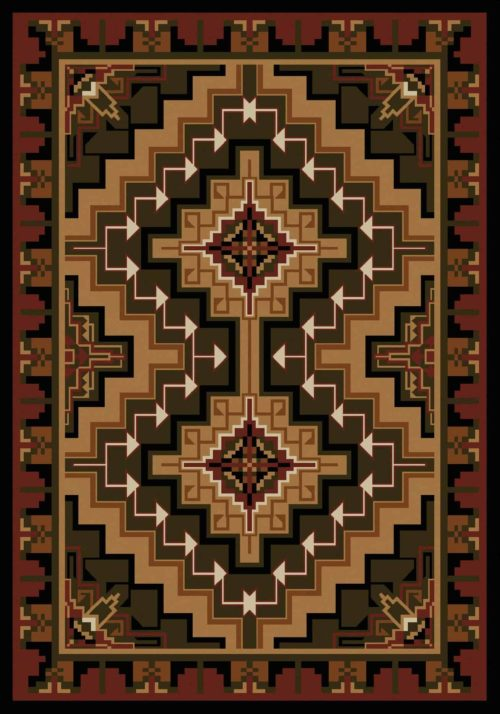 hill country red rug
