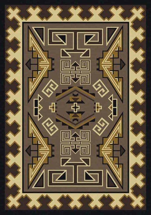 trader blanket sand rug
