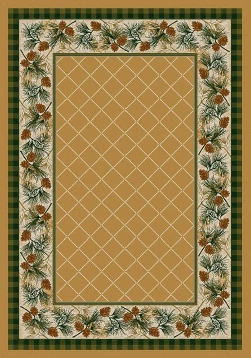 evergreen maize rug