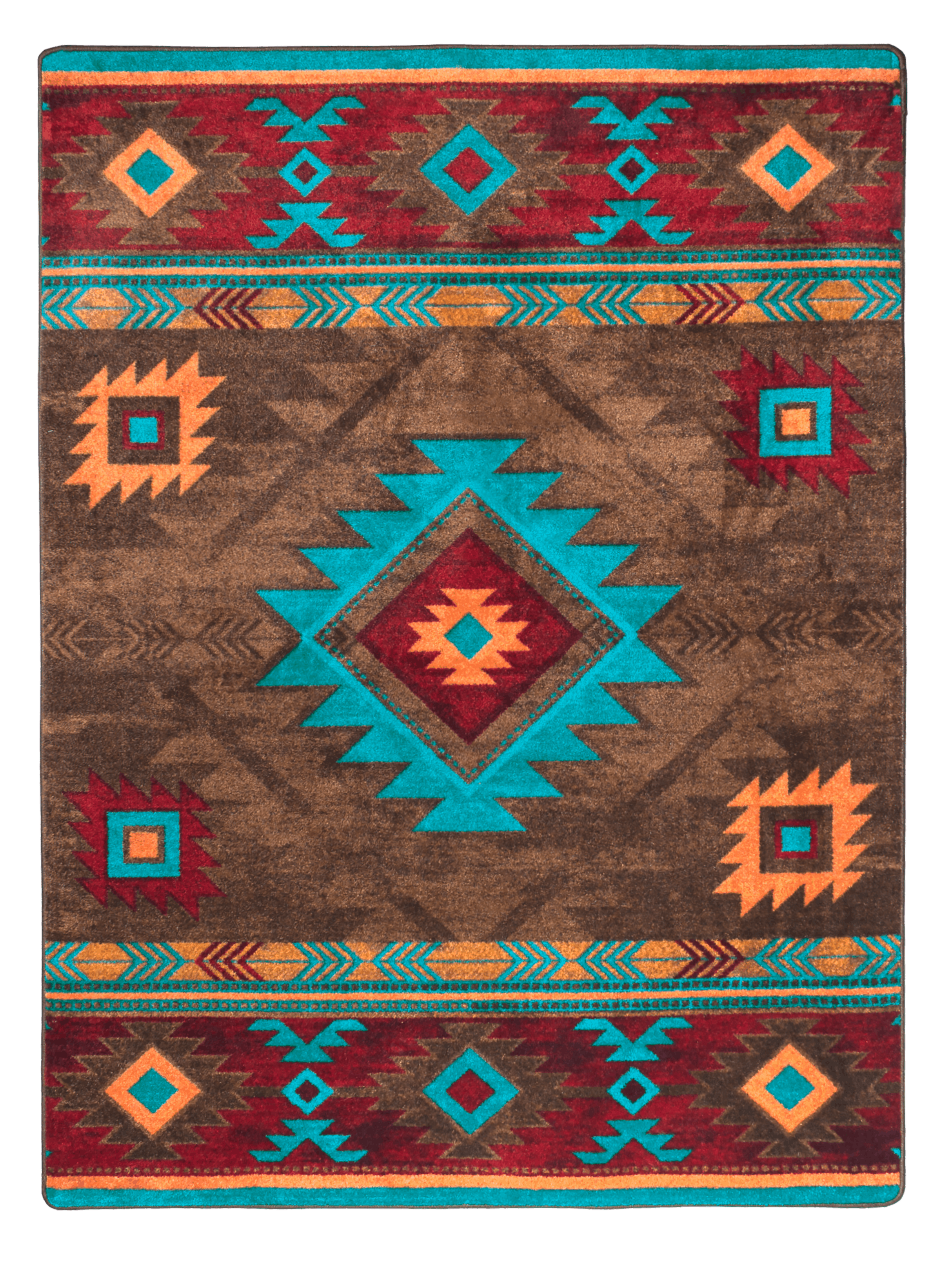 Whiskey River Turquoise Rug On Sale Now With Free Shipping