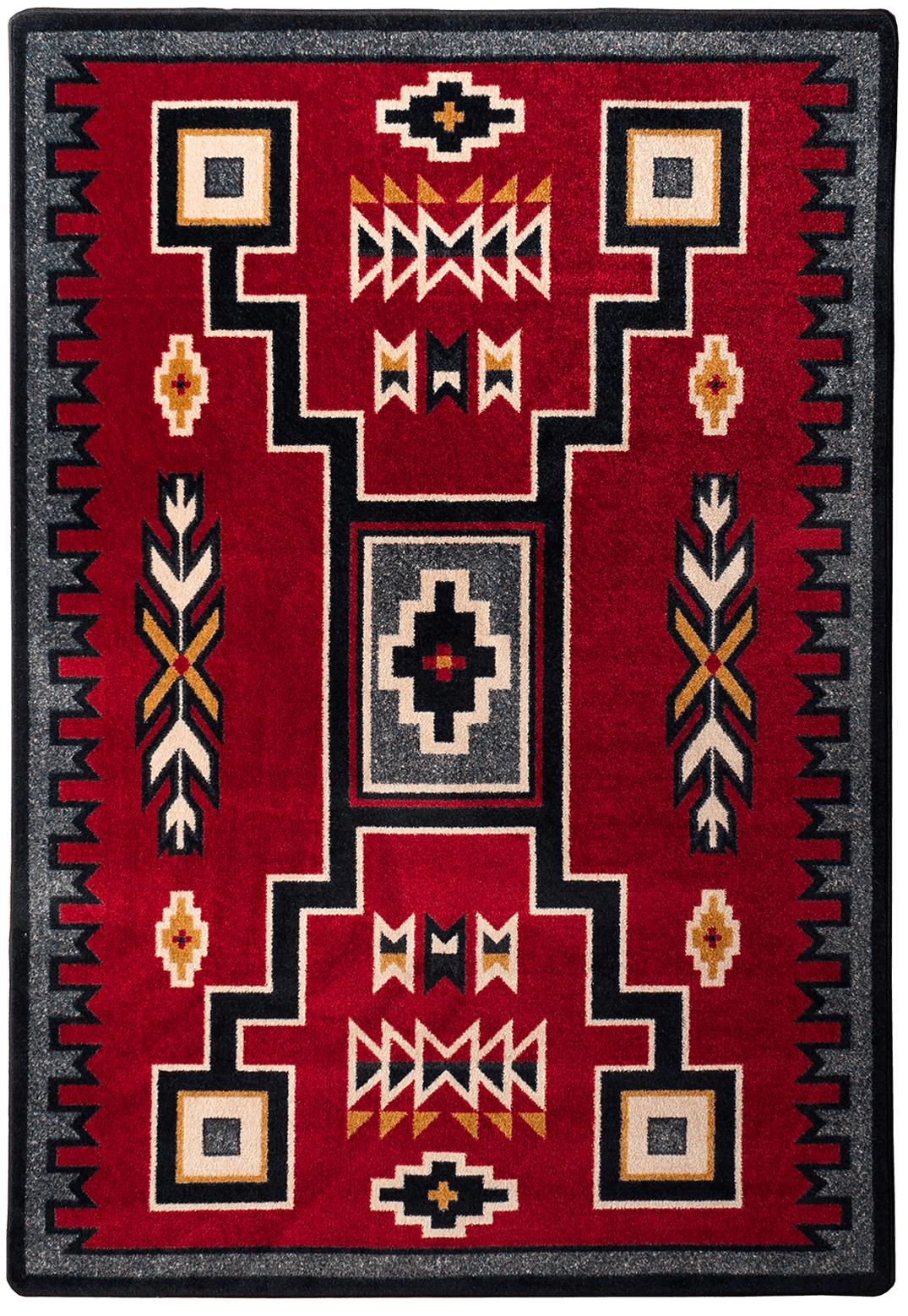 Old Crow Red Rug On Sale Now With Free Shipping