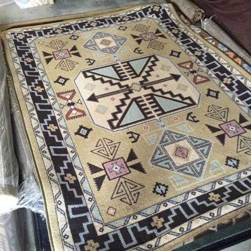 copper canyon rug scene