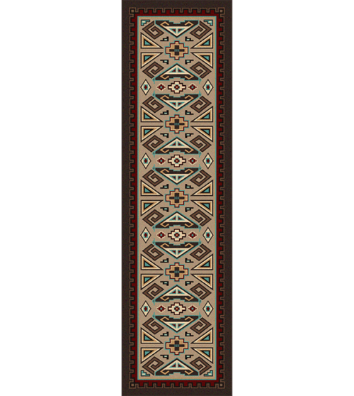 Butte Southwest Runner Rug