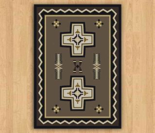 saint cross rug photo
