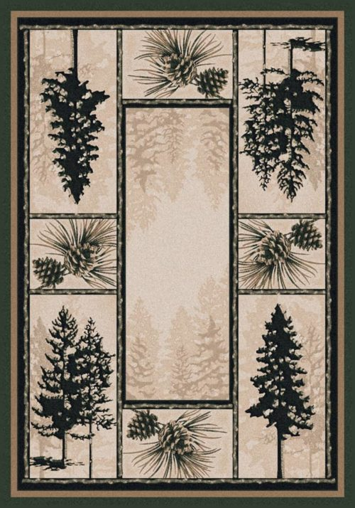 stoic pines rug