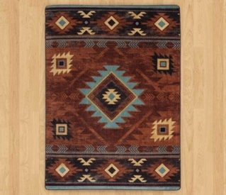 whiskey river rust rug