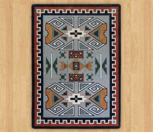 four rams rust rug