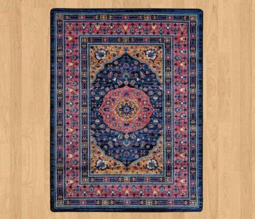 zanza marionberry rug