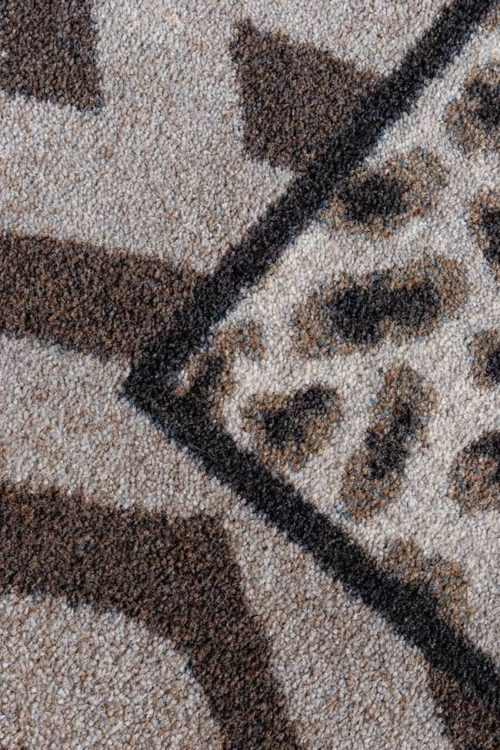 Saharan Roots Earthenware Rug Closeup
