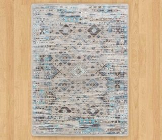 redemption distressed tundra rug