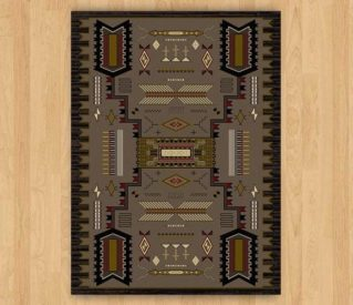 Intricate Storm Chestnut rug