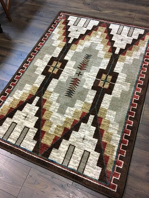 two towers bourbon area rug
