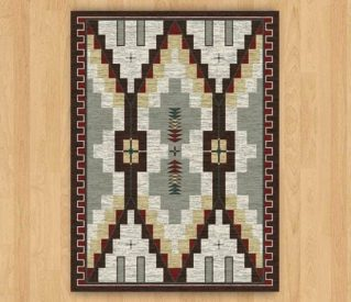 two towers bourbon rug