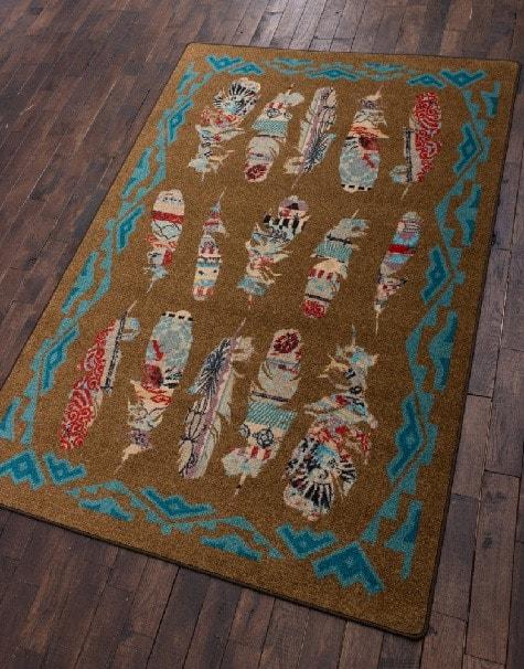 tamara ruiz feather rug