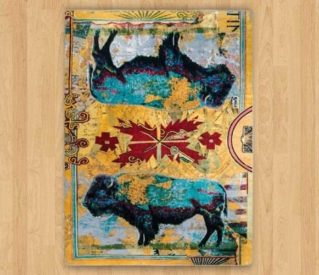 Ruiz Golden Buffalo rug