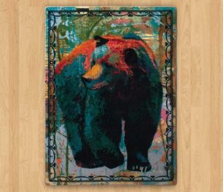ruiz vertical bear rug