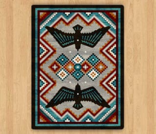 sunset dance electric rug