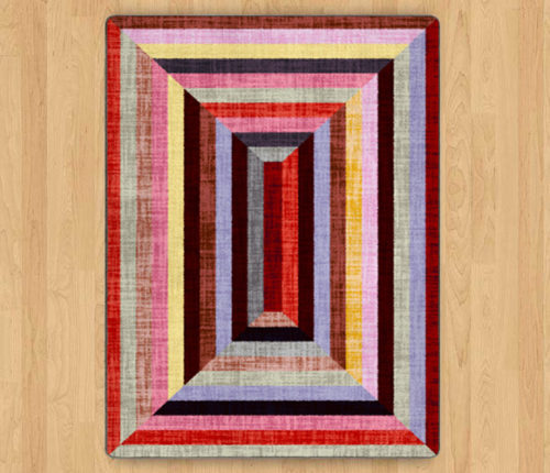 intrigue flare rug